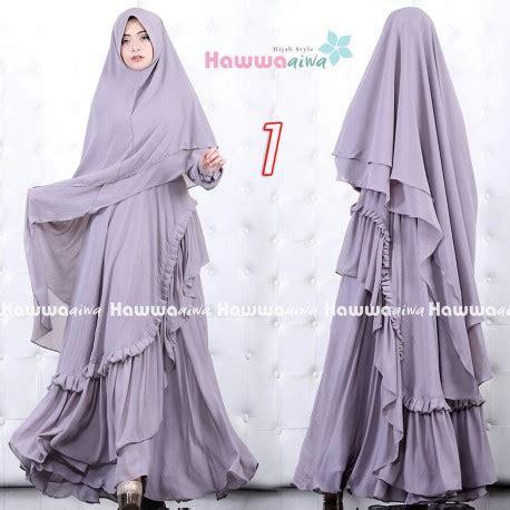 Khadeeja Syari Gamis Ay 1 khadeeja 2 1 baju muslim gamis modern