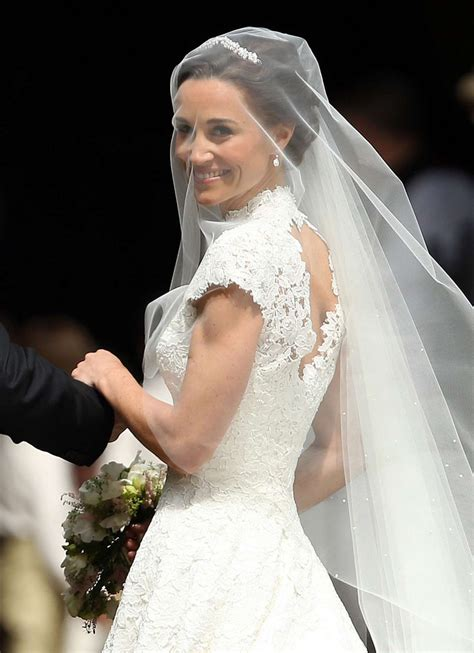 middleton pippa pippa middleton at her wedding at st marks church in
