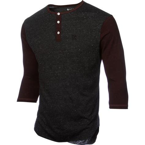T Shirt 3 4 matix monostack henley t shirt 3 4 sleeve s