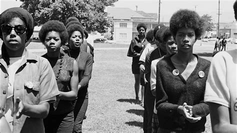 black panther movement 1960s women gender and party politics in the black panther