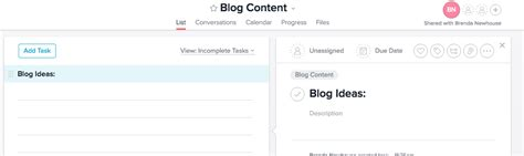 section header a step by step guide to planning blog content using asana