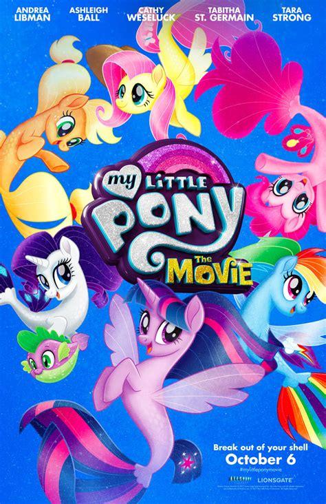 film bioskop little pony my little pony film nowy plakat promujący animację