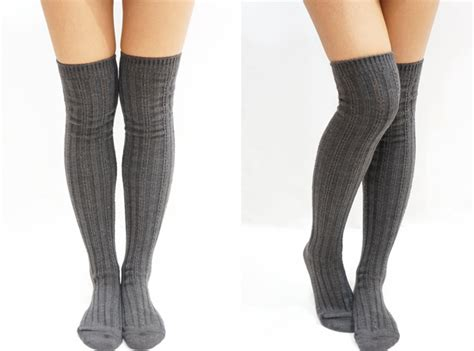 Knee Socks finding free clothes that are thrifting