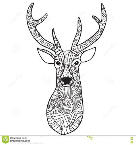 doodle draw reindeer doodle reindeer drawing merry happy new year