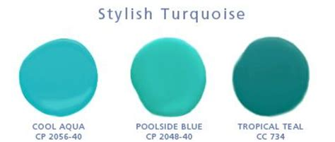 paint colors turquoise and painted furniture on