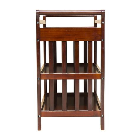 wooden baby change table baby sleigh change table wooden 3 tier change table walnut