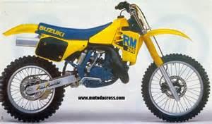 1988 Suzuki Rm 250 Suzuki Rm 250 Tutti Gli Anni Di Produzione
