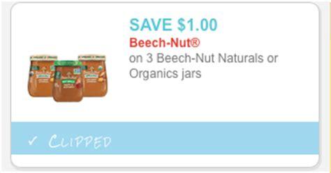printable baby food coupons beech nut organic baby food jar coupon all natural savings