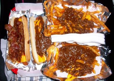 chili dogs near me chili cheese w bacon chili cheese chili cheese fries yelp