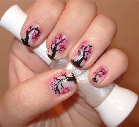 Nail Design Tree tree nail designs tree inspired nail designs