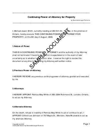 6 sample letter revoking power of attorney ledger paper
