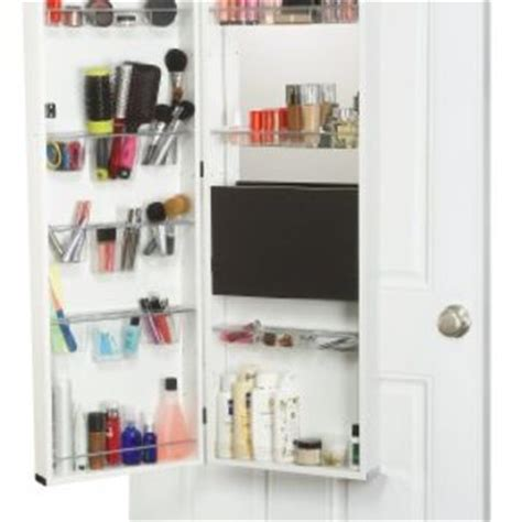makeup armoire vanity mirrotek beauty armoire makeup organizer from amazon house