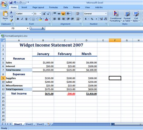 excel 2007 wks format how do i use pre built style features to format excel