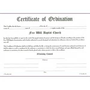Ordination Certificate Template by Pin Ordination Certificate Templates Pictures On