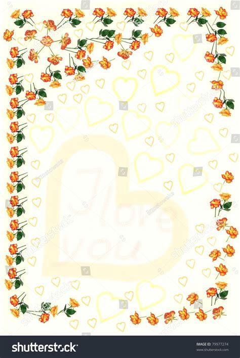 decorative paper letters decorative paper for letter stock photo 79977274