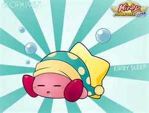 kirby sleep blopa1987 deviantart