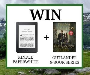 kindle contest win kindle paperwhite contest win a kindle paperwhite and the outlander 8 book