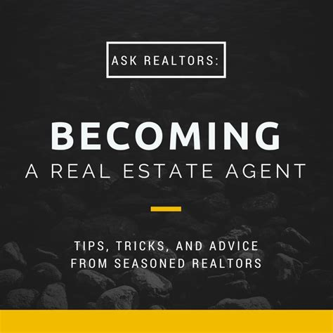becoming a real estate agent learn from the top experts