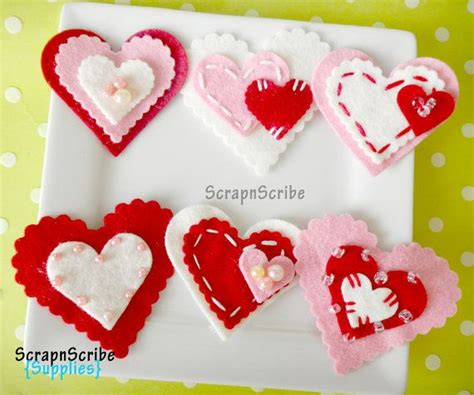 felt valentines 81 best felt valentines day images on