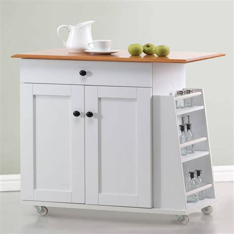 white kitchen island cart premier white kitchen island cart at hayneedle