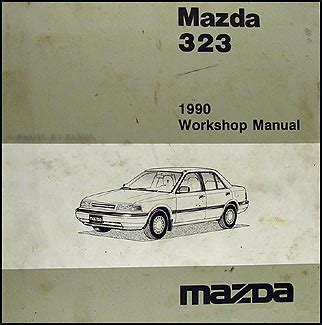 1991 mazda 323 and protege repair shop manual original search