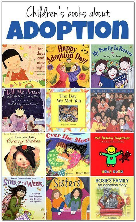 20 books about adoption to with children