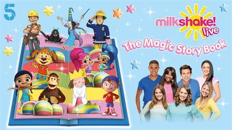 showing magic 3 books nickalive channel 5 announces quot milkshake live the
