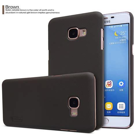 Nillkin Frosted Shield For Samsung Galaxy C5 C500 Hitam nillkin shockproof frosted shield for samsung galaxy c5 c5000 alex nld