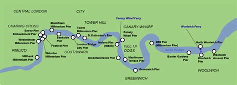 thames river map of london river map spain