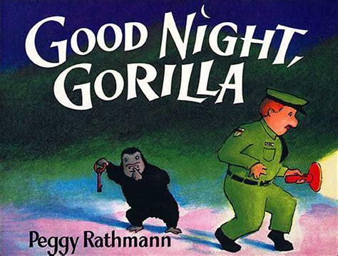 themes in the book night book club week 28 goodnight gorilla