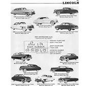 Identifying 1946 To 1953 Lincoln Automobiles  Route 66