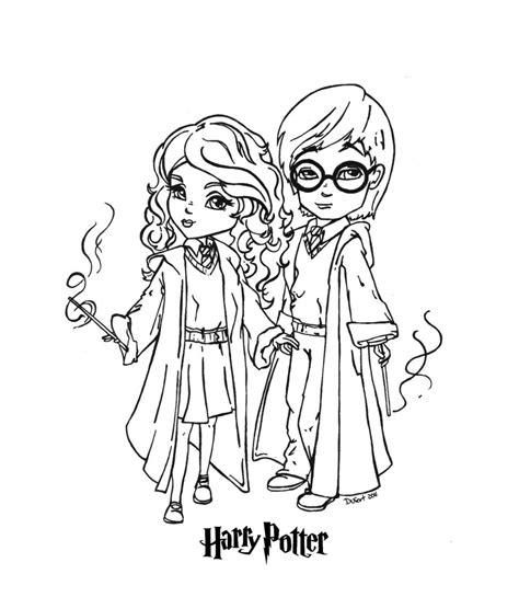 harry potter chibi coloring page chibi harry potter coloring pages coloringsuite com
