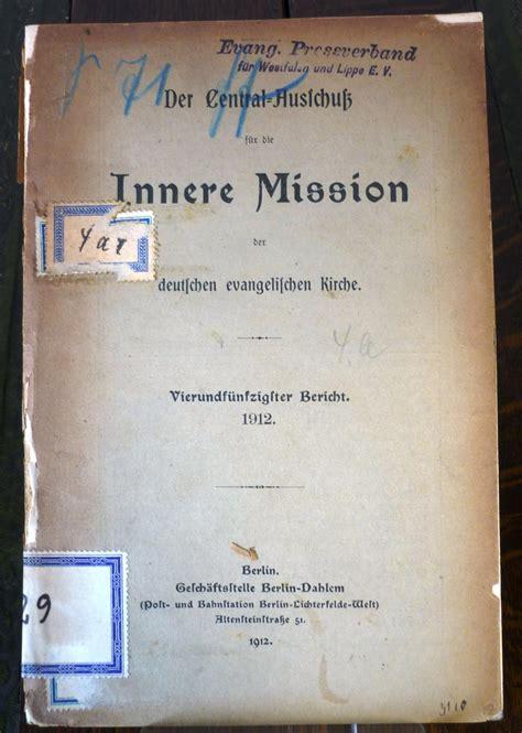 innere mission mission der mission zvab
