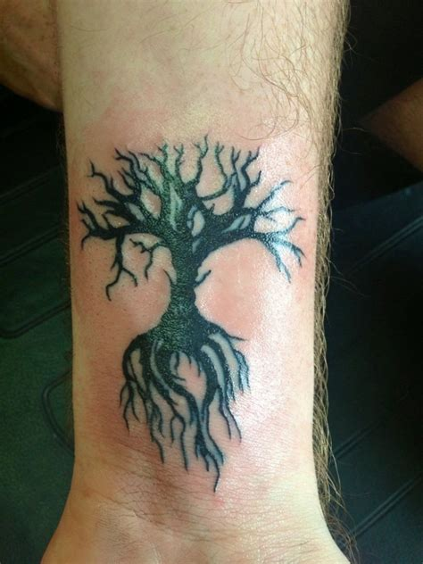 tree tattoos on wrist 77 attractive tree wrist tattoos design
