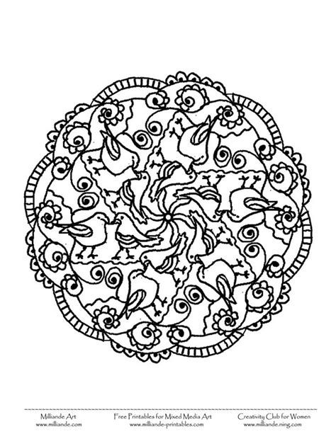 bird mandala coloring pages mandala coloring pages mandala coloring and birds on
