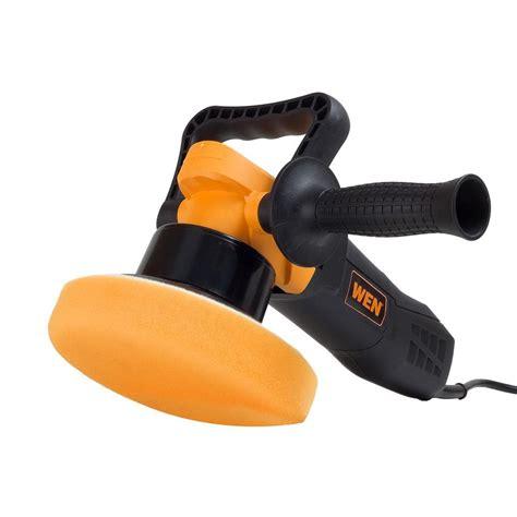 wen vortex dual action pro polisher   home depot