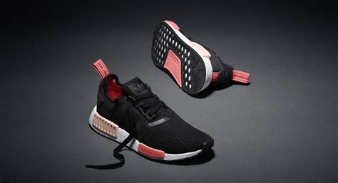 Adidas Nmd R1 Pink W Original Legit Sneakers New adidas nmd r1 runner w black pink where to