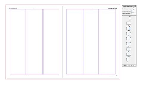 template indesign libro how to create a simple magazine template in adobe indesign