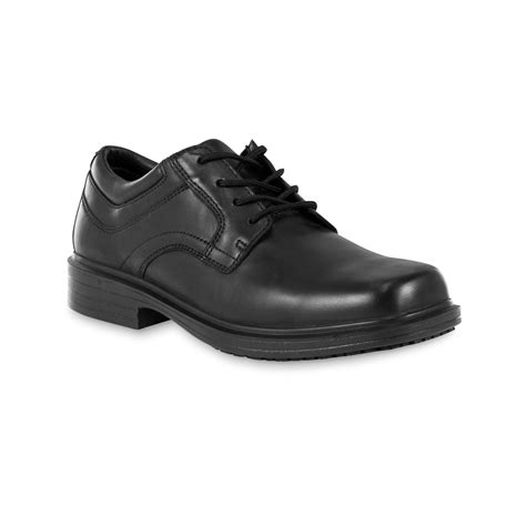 black oxford work shoes diehard s black oxford work shoe shop your way