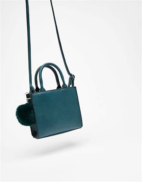 Bershka Textured Mini Tote Bag s bags autumn winter collection 2017 bershka