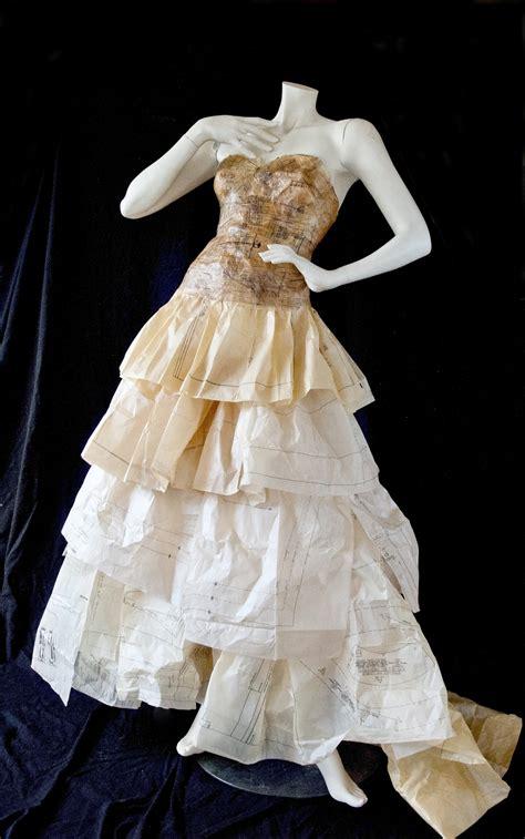 pattern paper dress vintage pattern paper dress