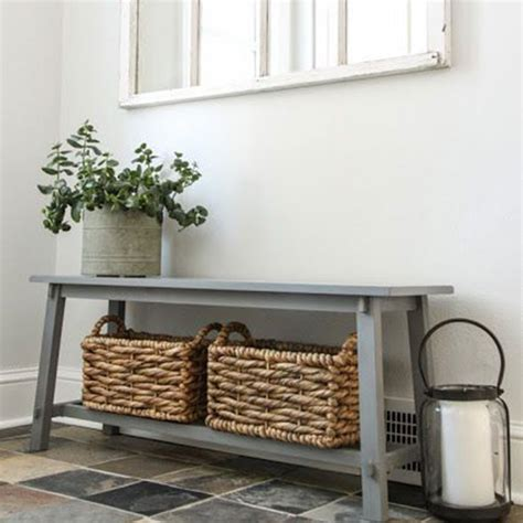 small hallway bench hallway ideas hall storage good housekeeping uk good