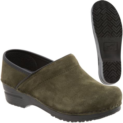suede clogs for dansko professional suede casual clog s