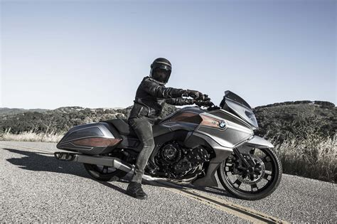 2020 bmw k1600 rumors bmw motorrad concept 101 six cylinders of bagger