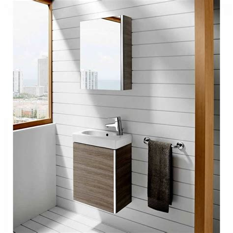 mirrored bathroom vanity units roca mini vanity unit with mirrored cabinet uk bathrooms