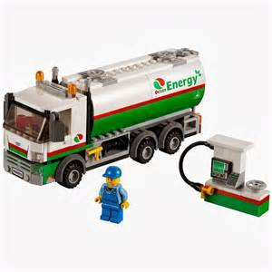 Lego Truck Lego City Tanker Truck 60016 My Lego Style