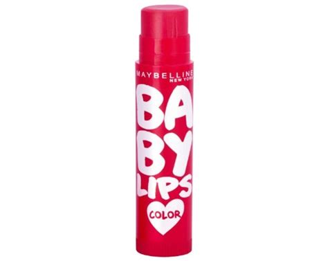 Maybelline Baby Balm In Soothing Cherry 15 best maybelline lip balms available in india with reviews and price