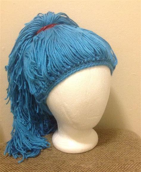 Handmade Wigs - handmade crochet yarn hat hair wig baby ligh