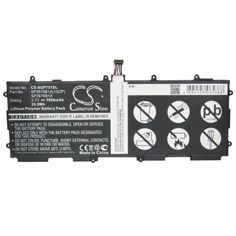 Batre Battery Baterai Samsung Tab P5100 P7500 N8000 samsung galaxy note tab 10 1 gt p7500 p7510 n8000 n8020 p5110 p5100 battery batteryexpert