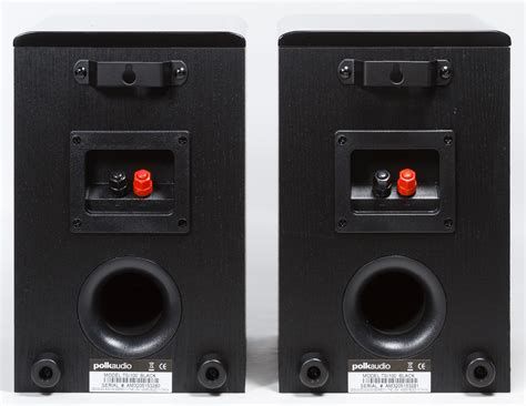 polk audio tsi100 black bookshelf speakers